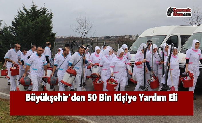 Büyükşehir'den 50 Bin Kişiye Yardım Eli