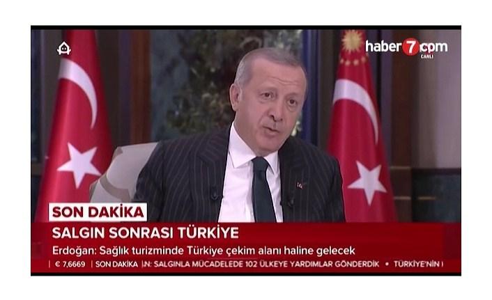 Cumhurbaşkanı Erdoğan koronavirüsle ilgili gelişmeler hakkında bilgi verdi