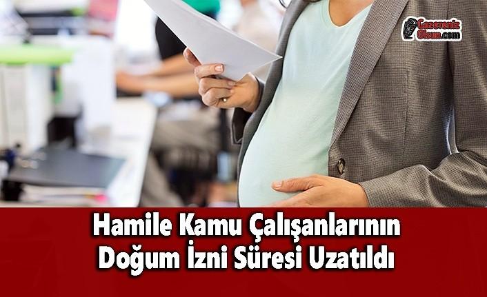 Hamile Kamu Çalışanlarının Doğum İzni Süresi Uzatıldı