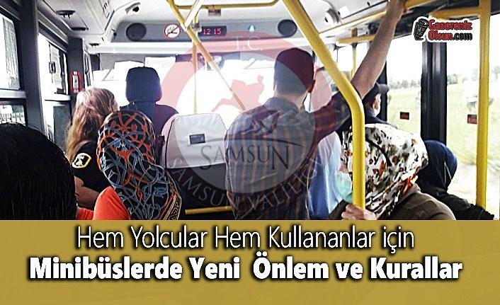 Hem Yolcular Hem Kullananlar için Minibüslerde Yeni  Önlem ve Kurallar