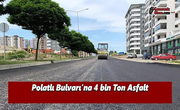 Polatlı Bulvarı'na 4 bin Ton Asfalt