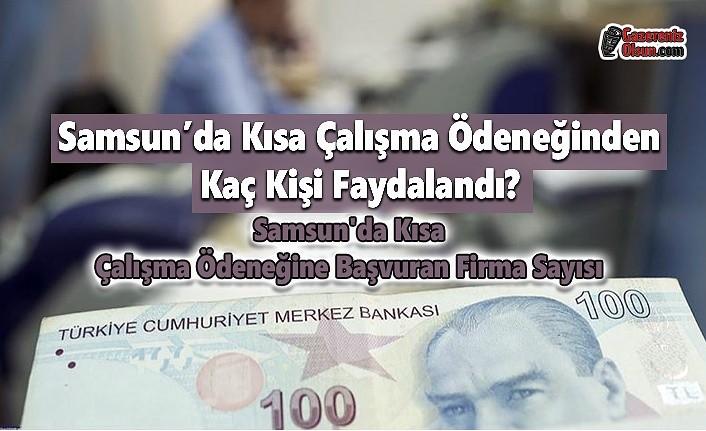 Samsun'da Kısa Çalışma Ödeneğine Kaç Firma Başvurdu, Kısa Çalışma Ödeneğinden Kaç Kişi Faydalandı?
