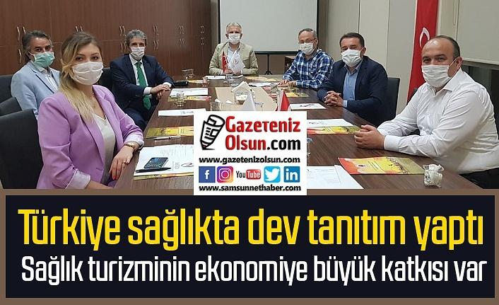 Samsun Sağlık Turizmi Derneği toplandı, hedef yeni pazarlar