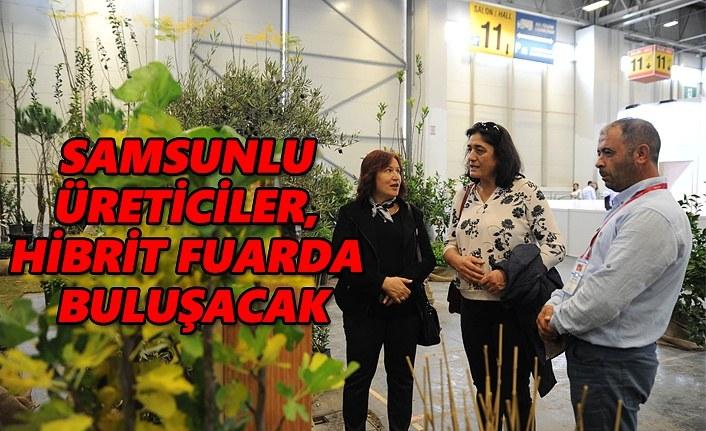 Samsunlu üreticiler The Flower and Plant Show Fuarı'nda