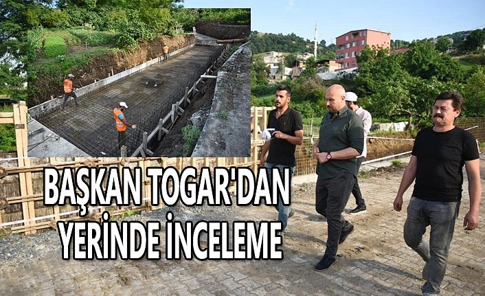 Tekkeköy Şabanoğlu Deresi'ne taşkın önlemi - Samsun Haber