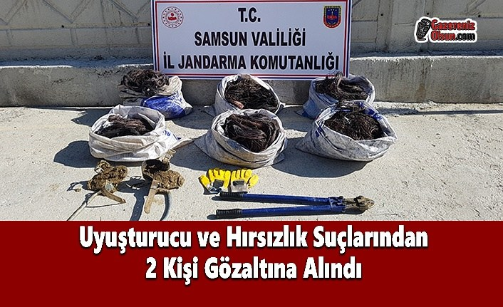 Uyuşturucu ve Hırsızlık Suçlarından 2 Kişi Gözaltına Alındı - Samsun Haber