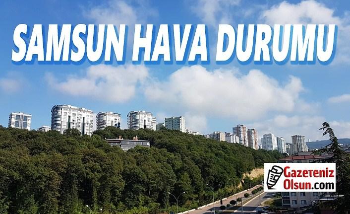 25 Temmuz Cumartesi Samsun Hava Durumu, Samsun Hava Durumu