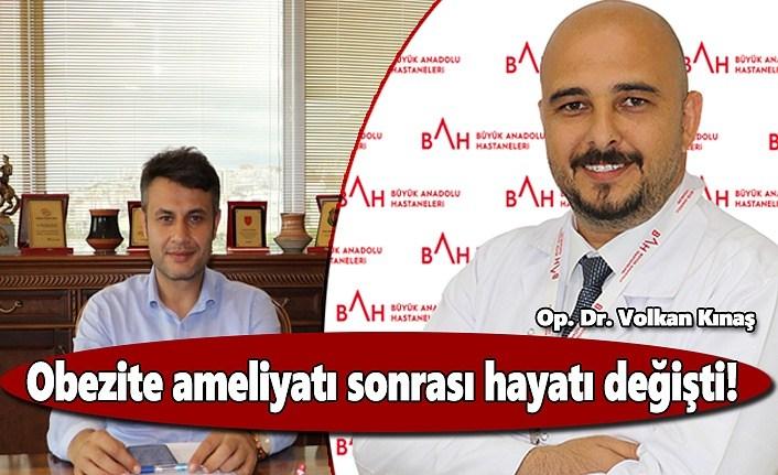 Anadolu Hastanesi'nde Obezite ameliyatı sonrası hayatı değişti!
