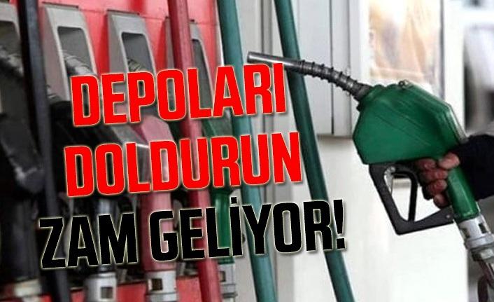 Benzin, motorin ve LPG'ye bu gece zam geliyor!