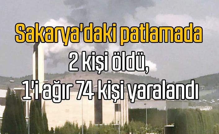 Cumhurbaşkanı Erdoğan'dan Sakarya'daki patlamaya ilişkin açıklama