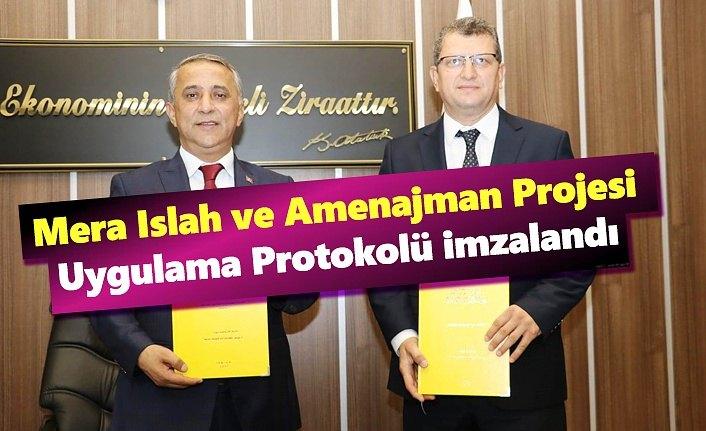 İl Tarım Müdürlüğü ve Orman İşletme Müdürlüğü Protokol imzaladı