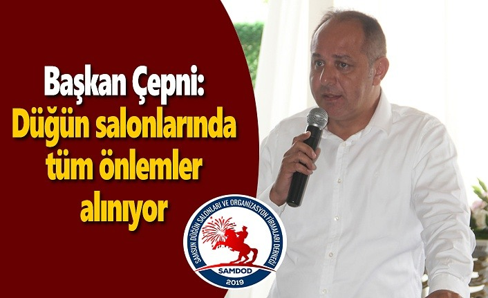 SAMDOD Başkanı Aykut Çepni açıklama yaptı