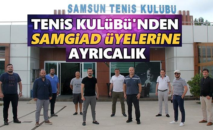 SAMGiAD üyelerine Tenis Kulübü'nden ayrıcalık