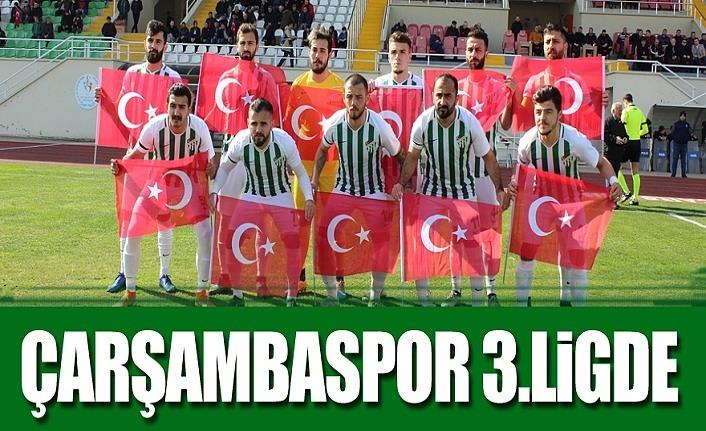 Şampiyon Çarşambaspor, ilçe de coşku büyük!