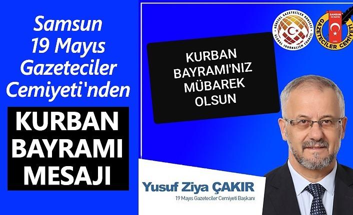 Samsun 19 Mayıs Gazeteciler Cemiyeti'nden Kurban Bayramı Mesajı