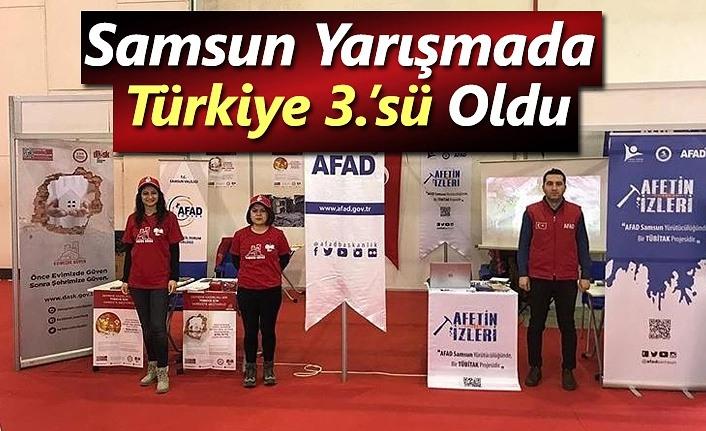 Samsun Şehirler Yarışıyor, Sigortalılar Kazanıyor Yarışmasında Türkiye 3.'sü Oldu