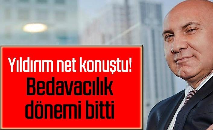Samsunspor'da bedavacılık dönemi bitti, Başkan Yıldırım: Sıra ona da geliyor!