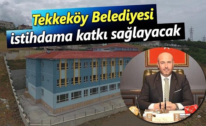 Tekkeköy Belediyesi Türkiye'de bir ilki gerçekleştirecek