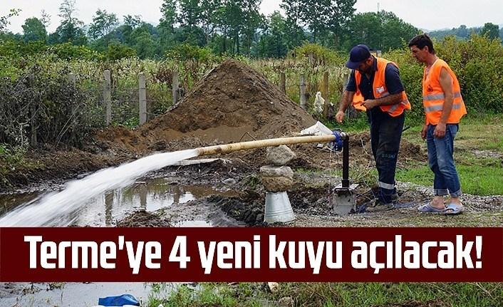 Terme'de kuraklık kaynaklı içme suyu sıkıntısı giderilecek!