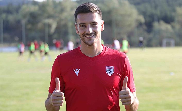 Vukan Savicevic Samsunspor'da olmaktan çok mutlu
