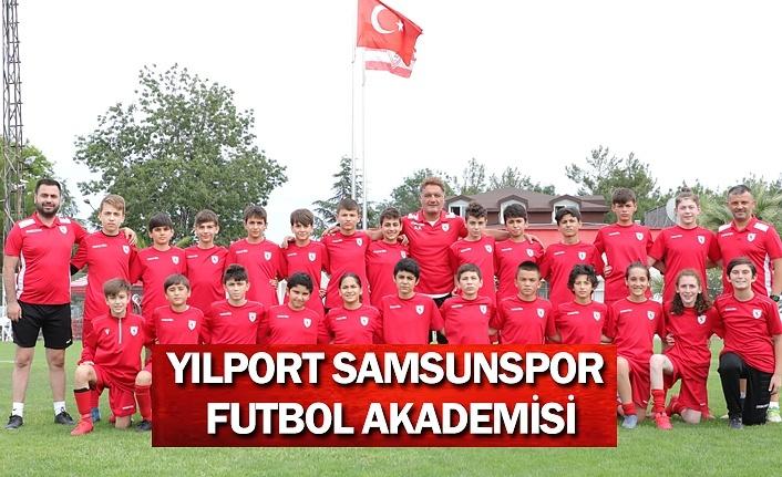 Yılport Samsunspor futbol akademisinde mesai başladı
