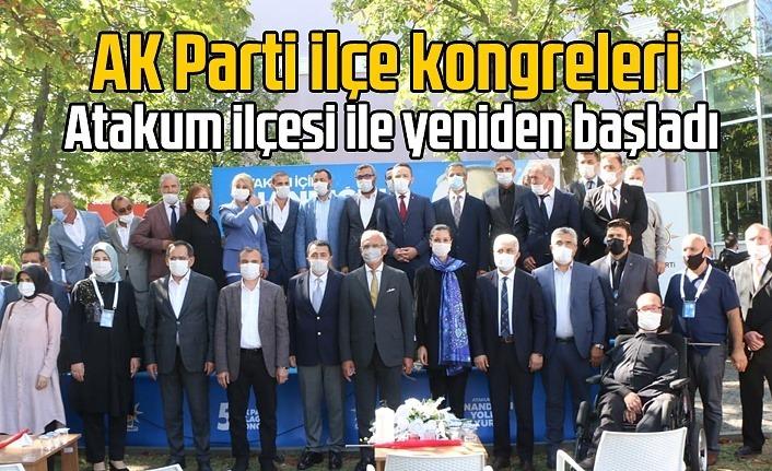 AK Parti Atakum İlçe Kongresi yapıldı, AK Parti Atakum İlçe Yönetim Kurulu Listesi