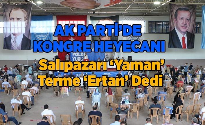 AK Parti Salıpazarı ve Terme İlçe Yönetim Kurulu Listeleri