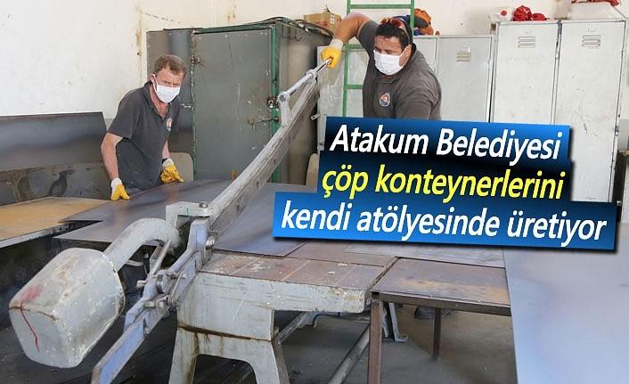Atakum Belediyesi'nde yüzde 100 yerel üretim
