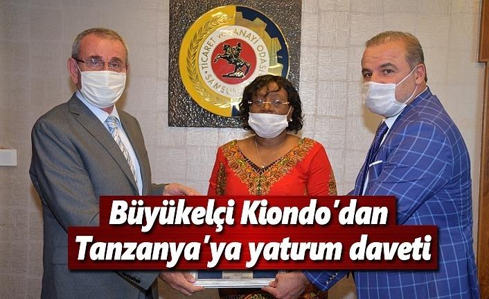 Büyükelçi Kiondo'dan Tanzanya'ya yatırım daveti