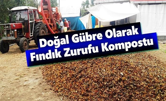 Doğal Gübre Olarak Fındık Zurufu Kompostu