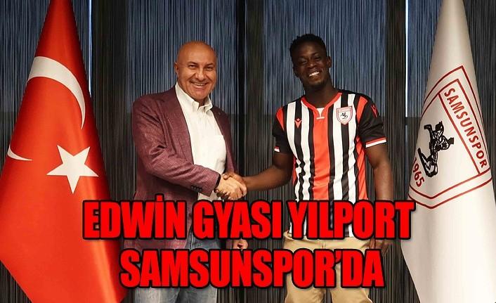 Edwin GYASI Yılport Samsunspor'da