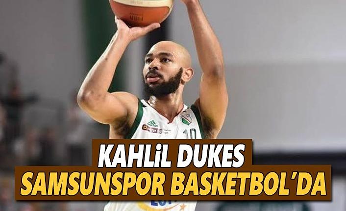 Kahlil Dukes Samsunspor Basketbol'da