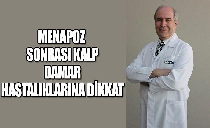 Menapoz sonrası kalp damar hastalıklarına dikkat