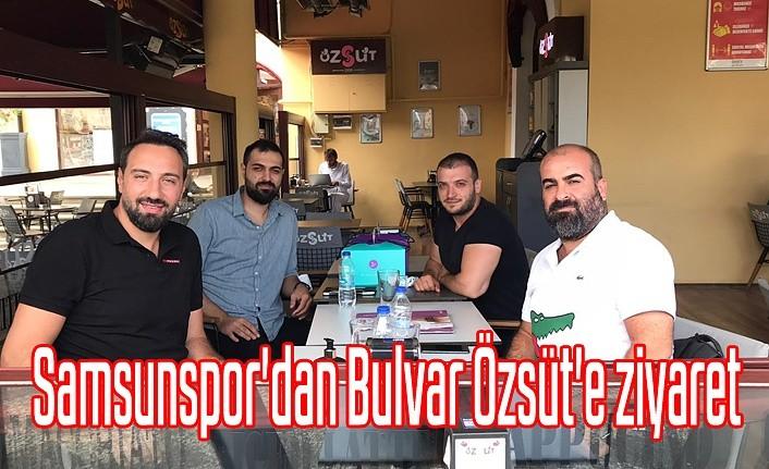 Samsunspor'dan Bulvar Özsüt'e ziyaret