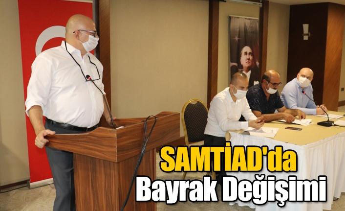 SAMTİAD'da Bayrak Değişimi