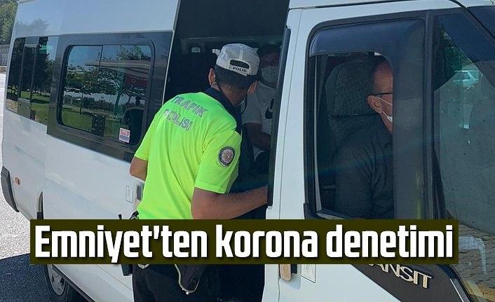 Toplu Taşıma Araçlarına Koronavirüs Denetimi - Samsun Haber