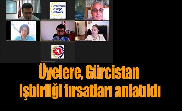 Samsun TSO üyelerine, Gürcistan işbirliği fırsatları anlatıldı
