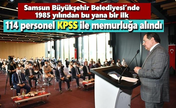 114 personel KPSS ile memurluğa alındı