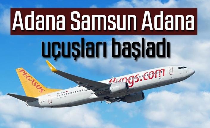 Adana Samsun Adana uçuşları başladı - Samsun Haber