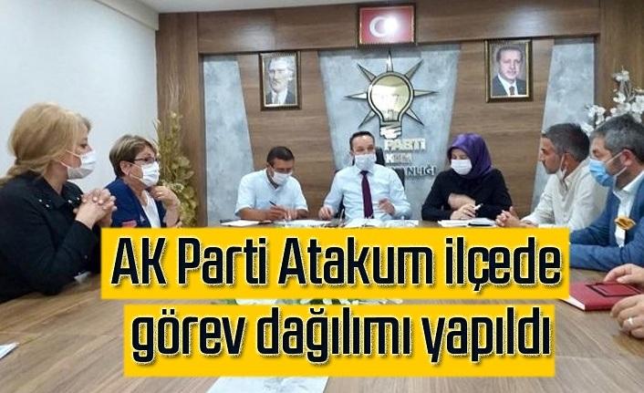 AK Parti Atakum İlçe Yürütme Kurulu Üyeleri belirlendi