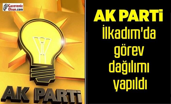 AK Parti İlkadım İlçe Yürütme Kurulu belli oldu, AK Parti İlkadım'da görev dağılımı yapıldı