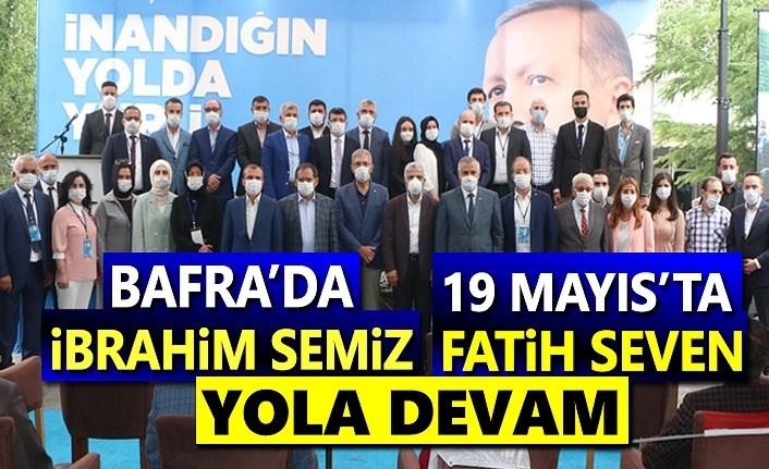 Bafra'da İbrahim Semiz'le, 19 Mayıs'ta Fatih Seven'le Devam