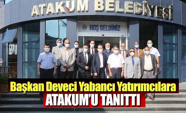 Başkan Deveci yabancı yatırımcılara Atakum'u tanıttı