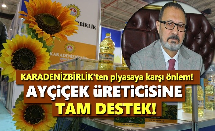 KARADENİZBİRLİK'ten Ayçiçek Üreticisine Tam Destek!