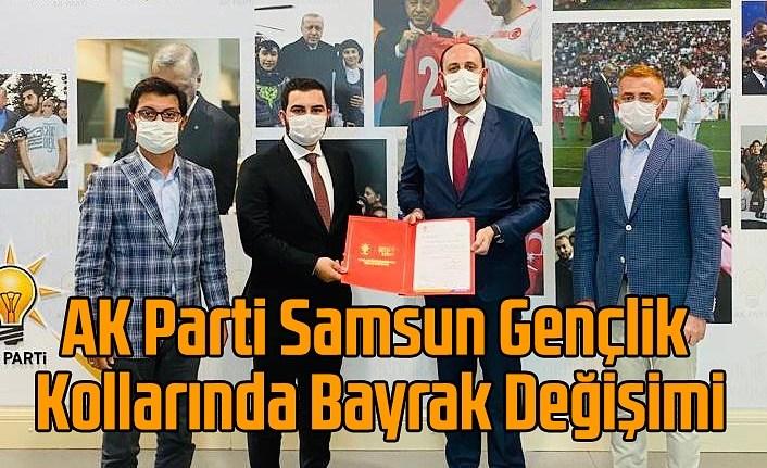 Mücahit Yılmaz AK Parti Samsun Gençlik Kolları başkanı oldu