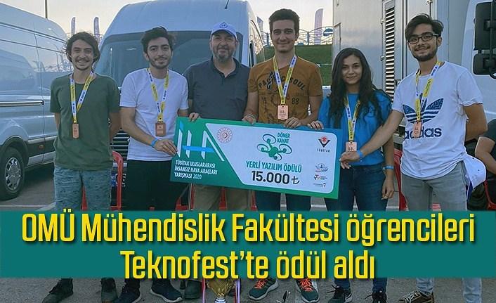 OMÜ Atakuş İHA takımı Teknofest'te ödül kazandı