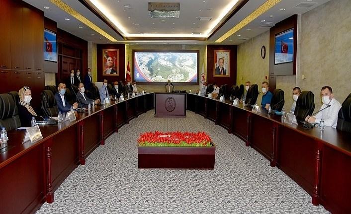 OMÜ'de Sivil Tolum Kuruluşları ile İstişare Toplantısı