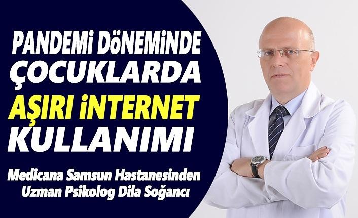 Pandemi Döneminde Çocuklarda Aşırı İnternet Kullanımına Dikkat