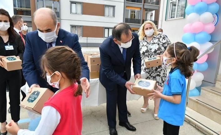 Samsun'da 11 bin öğrenciye kahvaltı ikram paketi