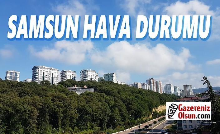 Samsun Hava Durumu, 4 Eylül Cuma Samsunda Hava Nasıl Olacak!